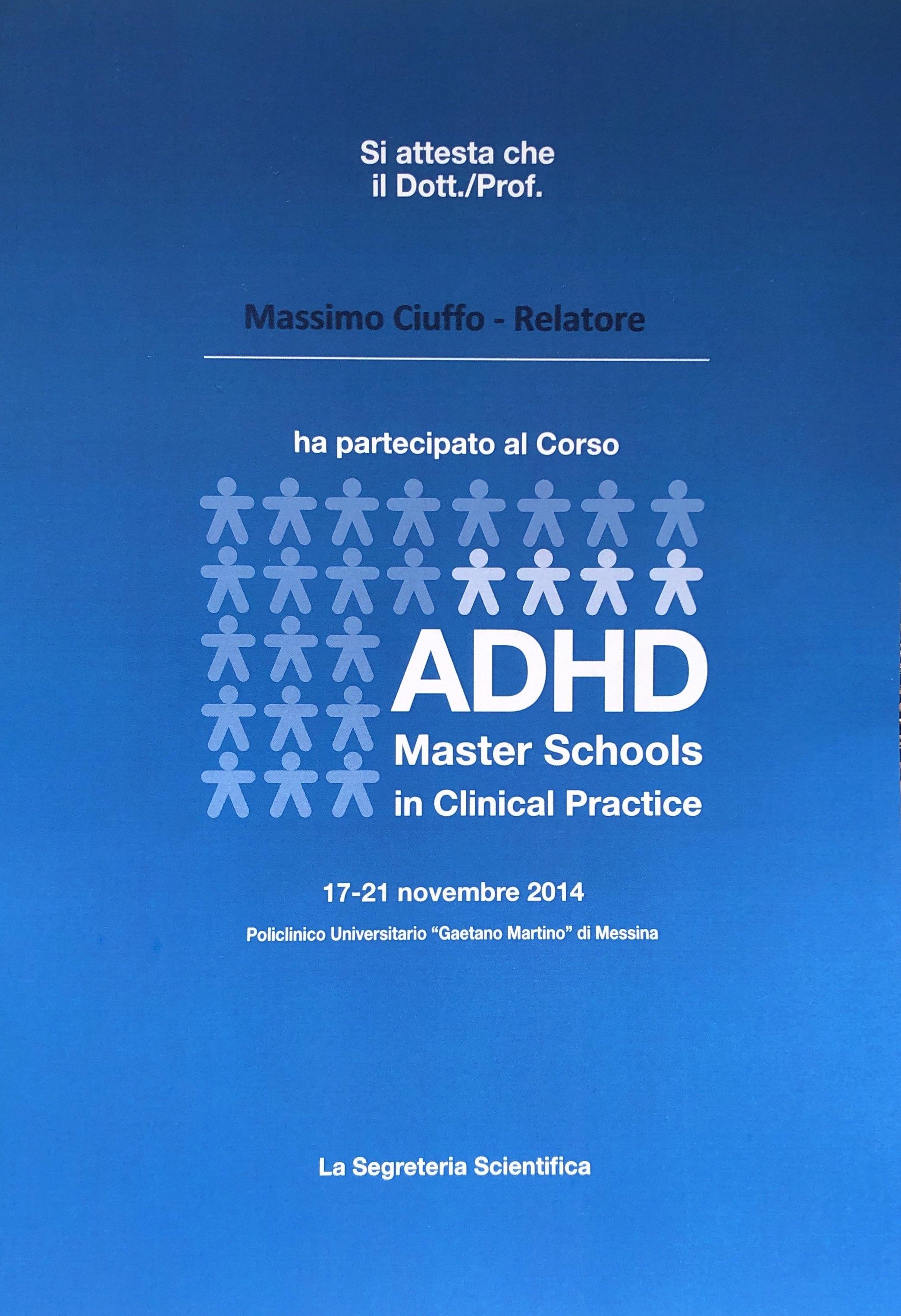 Corso ADHD